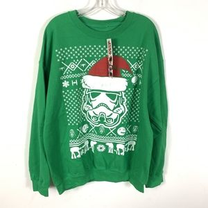 Star Wars Stormtrooper Hat Ugly Christmas Sweater